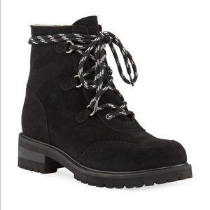 La CANADIENNE Weatherproof Shearling Hiker Boots.